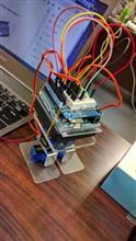 Arduinoファンクラブで作った2足歩行ロボット