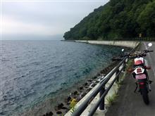 2017.08.20 DT125Rでニセコや支笏湖へ