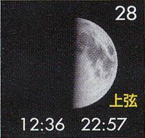 月暦 9月28日(木)