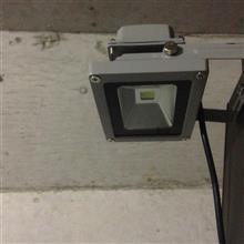 LED投光器をご利用の方ご注意を!!
