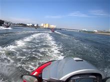ジェットスキー東京湾ツーリング