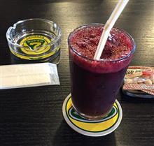 カフェセブンのブルーベリージュース