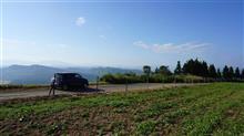 トゥインゴで山本山高原そばの花とファームス木島平を巡るドライブへ(^^)/