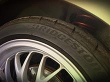 9月11月(月) 装着タイヤを眺めた日。