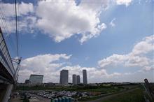 青空に浮かぶ雲 心地よい風 そして日差しが嬉しかった。。。