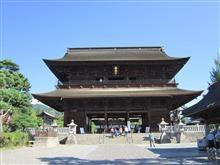 全国オフ前日ドライブ2017 前編 ~善光寺と戸隠神社を訪ねて~