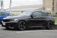 メンテナンスは大事...BMW F87 M2 エンジンオイル交換 4CT-S