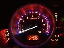 Hit 50k kilometers