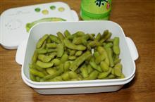 枝豆収穫♪