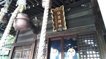 住吉神社に参拝、帰る頃には雨が上がり