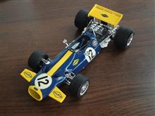 プラモ製作ーユニオン1/24 Brabham BT33