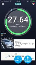 燃費記録 2017年9月第3週