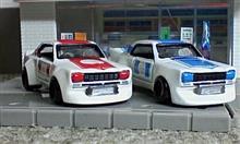 トミカ改造 ハコスカレーシング仕様 2台