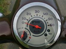 ジョルノくん8,000kmキリ番