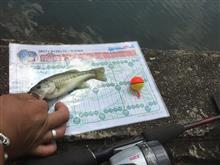 久々バス釣り^ ^