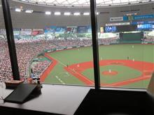 野球観戦(埼玉西武VS北海道日本ハム)