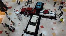 懐かしの車の展示・・・