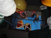 那須岳紅葉情報9/12 那須ロープウェイで、紅葉シーズン前にゴンドラから乗客救助訓練!