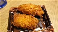 今夜は、広島原産大粒カキフライだよ♪