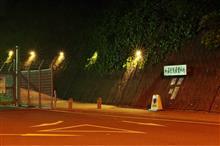 夜間の静岡空港