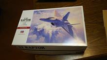 ハセガワ F-22 ラプター だよ♪