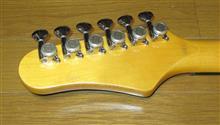 Hagstromギターのペグ交換。