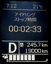 記念走行距離w