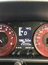 祝!! 20000km