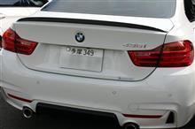 BMW 435 オイルスラッジクリーン&カーボンクリーン