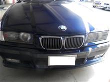 BMW E36 E-BJ25 パワーウィンドウモーター交換