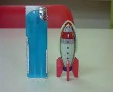 ブリキのおもちゃ、「 宇宙船 」 ~