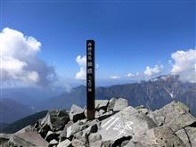 西穂 独標 標高 2701メートル 行きました