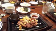久しぶりの肉外食