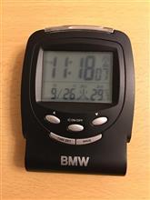 BMWノベルティの電波時計