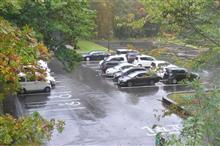 北海道3日目:台風の影響 雨の朝