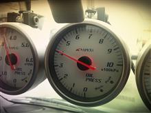 9月26日(火) 新油時の油圧メモの日。