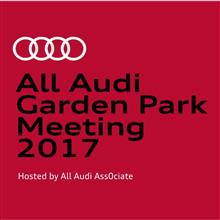 All Audi Garden Park Meeting 2017のお知らせ