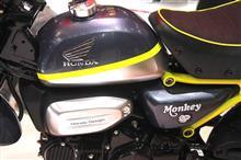 『ホンダ、市販目前のモンキー125を出品へ…倒れないライディング・アシストも』<カービュー!>/東京モーターショー2017