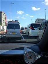 今朝の渋滞は何??