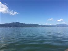 琵琶湖まで行ってきました。