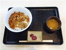 中国道下り西宮名塩SA 牛丼560円