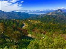 本日の横手山からの絶景と紅葉・・・
