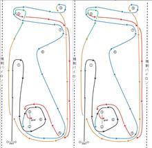 バトルジムカーナ2017Rd.3のコース図