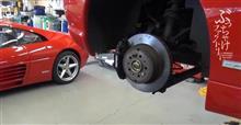 フェラーリ F355 ドライブシャフトブーツ交換