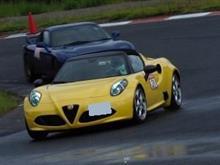 愛車アルファロメオ156で久々サーキット・ハーフウェットは改めて学ぶことも多い!