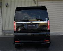 クリスタルアイ N-BOX カスタム ファイバーLEDテールV2 シーケンシャルウインカータイプ発売