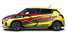 『モンスタースポーツが「スイフトスポーツ」のコンプリートカーを発売』<ウェブCG>/気になるWebニュース。