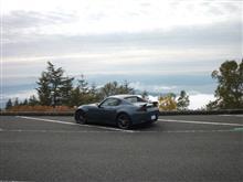 富士スカイラインは霧
