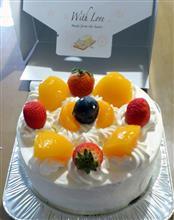 サービス券のケーキ~♪
