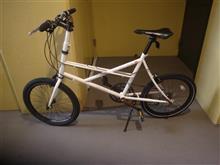 家内の自転車です。